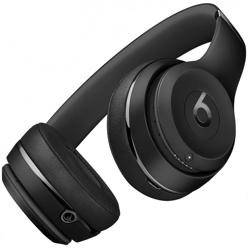 Beats juhtmevabad kõrvaklapid + mikrofon Solo3, must