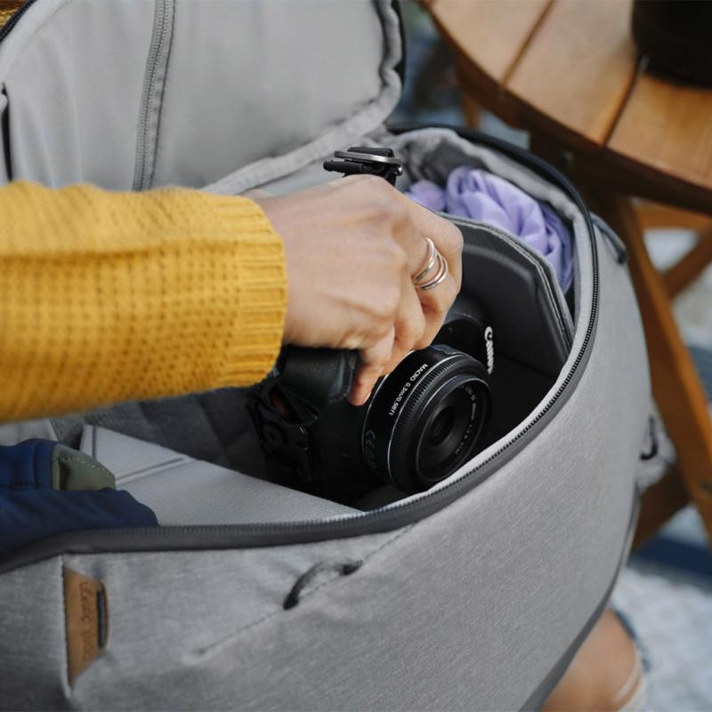 Peak Design seljakott Everyday Backpack Zip V2 15L, ash