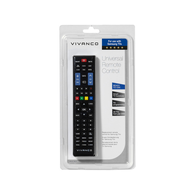 Vivanco универсальный пульт Samsung/LG (38016)