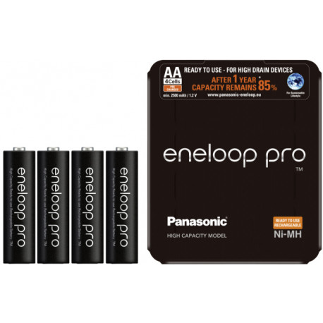 Panasonic eneloop аккумулятор  Pro AA 2500 4SP