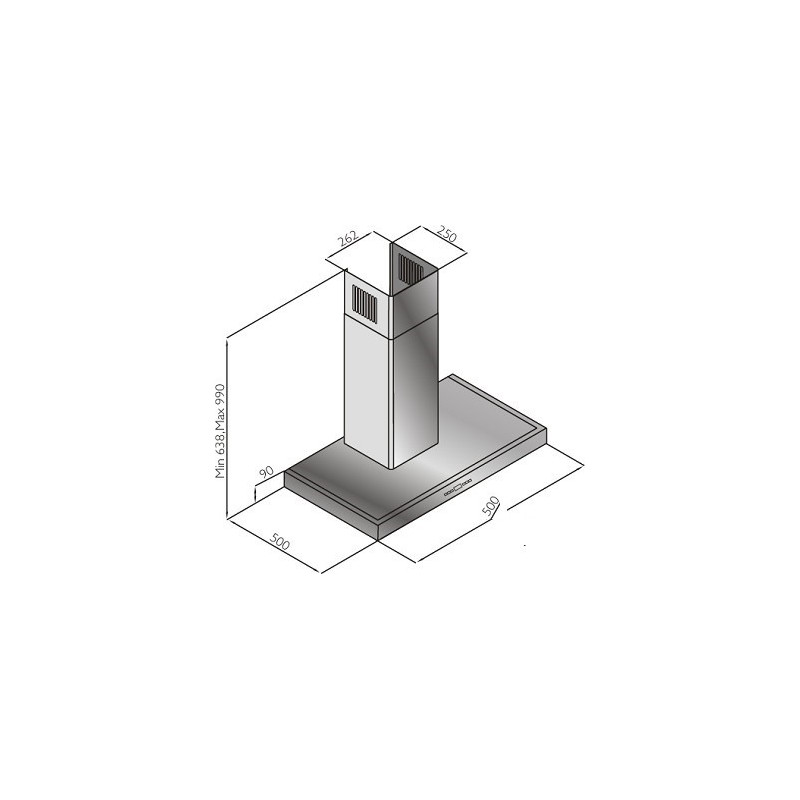 Schlosser õhupuhasti H02E50X/580