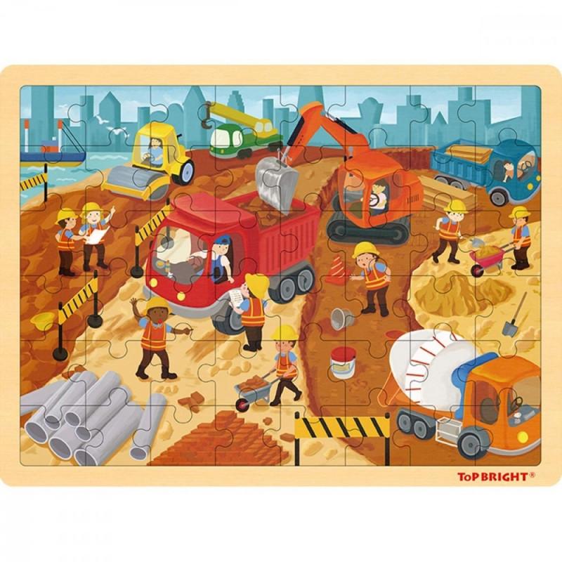 Brimarex TOP BRIGHT Wood en puzzle
