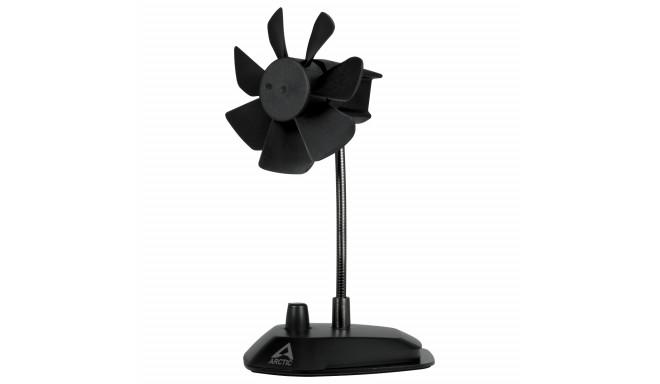 Arctic ventilaator Breeze USB, must (ABACO-BRZBK01-BL)
