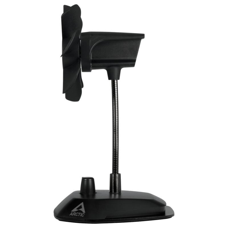 Arctic Breeze Black USB Table Fan (ABACO-BRZBK01-BL)