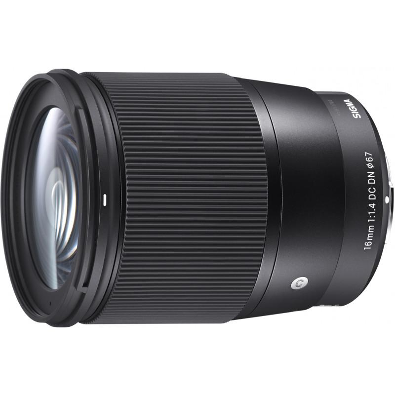 Sigma 16mm f/1.4 DC DN Contemporary objektiiv Canon EF-M