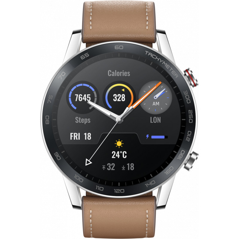 Honor MagicWatch 2 46mm, pruun