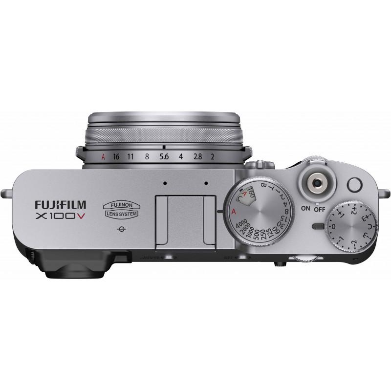 Fujifilm X100V, hõbedane