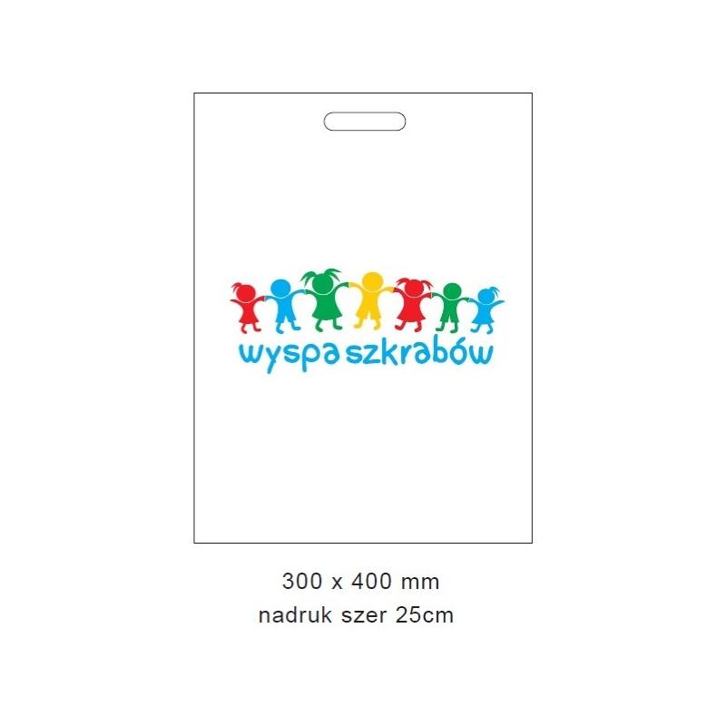 Bag with print 30x40 cm (100 pcs)