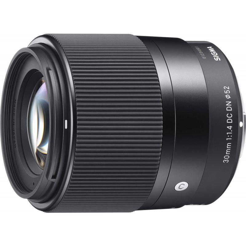 Sigma 30mm f/1.4 DC DN Contemporary objektiiv Canon EF-M