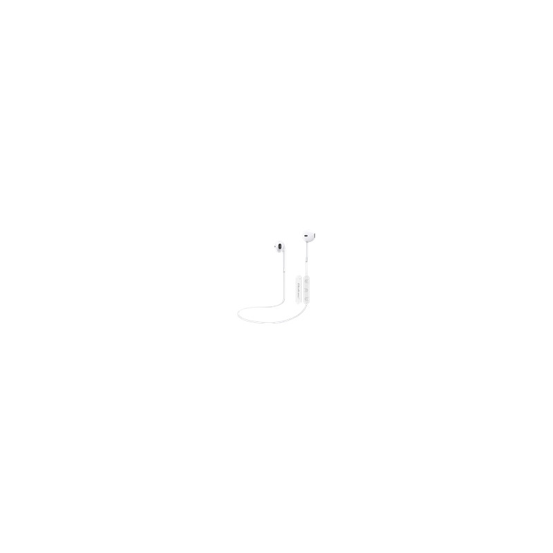 QOLTEC 50819 Qoltec In-ear Headphones Wireless with microphone | White