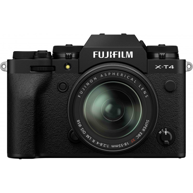 Fujifilm X-T4 + 18-55mm, must