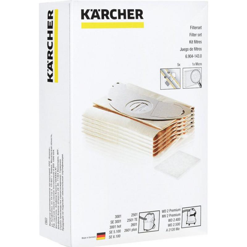 Kärcher dust bag K2501/3001 5+1