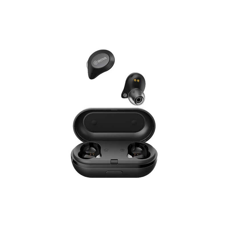 Boya wireless earbuds True Wireless, black