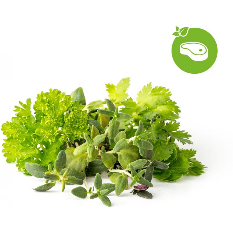 Click & Grow Plant Pod Steak Mix 9tk