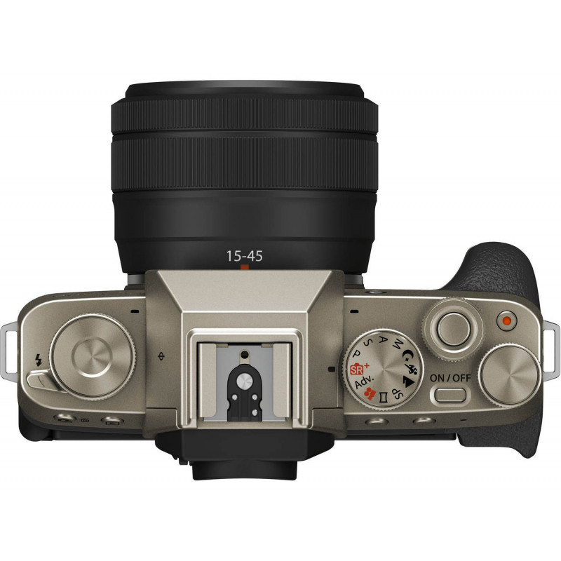 Fujifilm X-T200 Youtuber Kit, kuldne