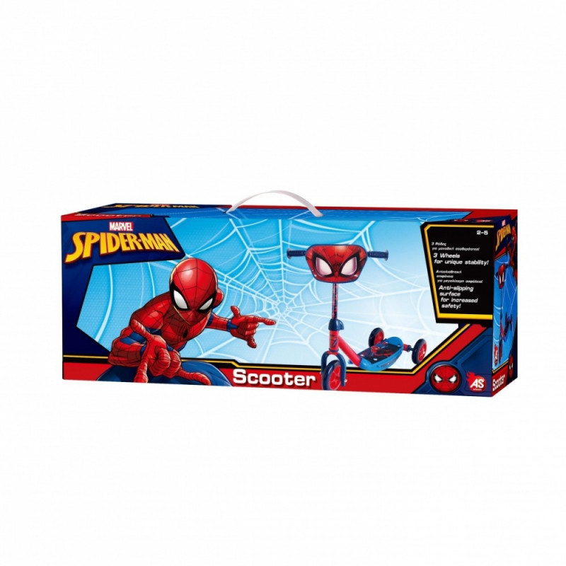 As Company 3-Wheels Scooter Spiderman