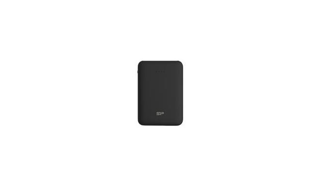 SILICONPOW SP5K0MAPBKC50CPK Silicon Power Dash C50 Power Bank 5000mAH, mini, Black