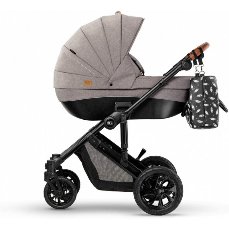 Kinderkraft Baby Strolle r Prime 2w1 beige+Mommy