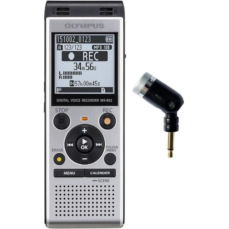 Olympus recorder WS-852 + ME52 microphone, grey