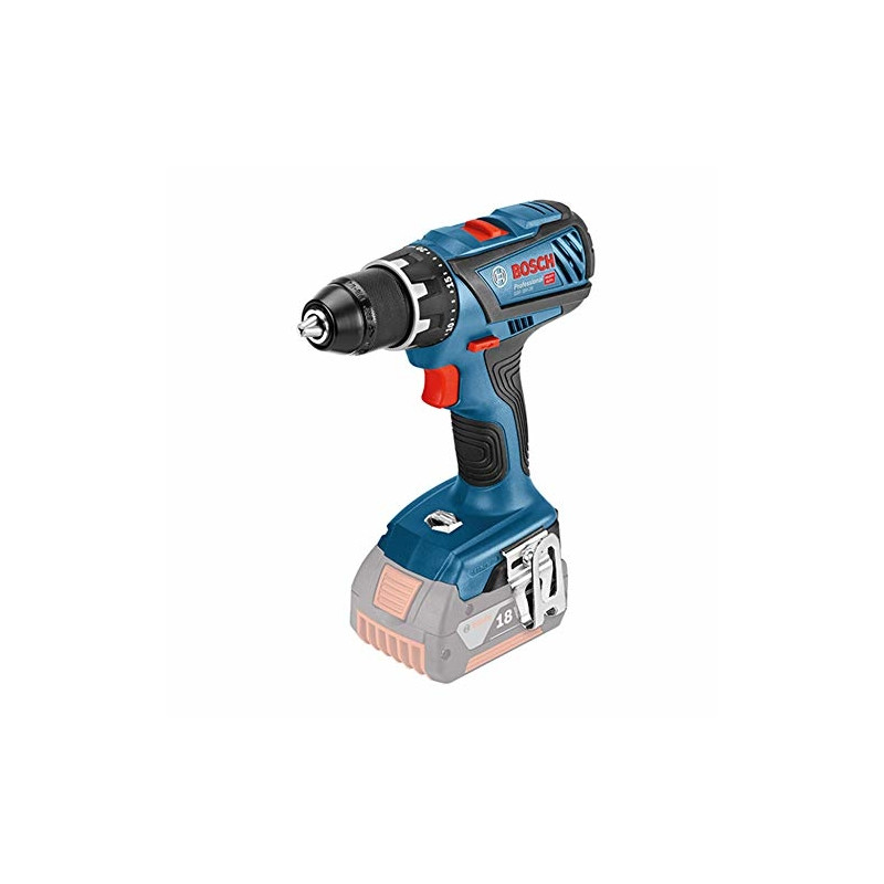 Bosch cordless drill GSR 18V-28 Professional solo, 18 Volt(blue / black, without battery and charge