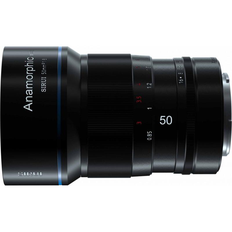 Sirui 50mm f/1.8 Anamorphic objektiiv Sonyle