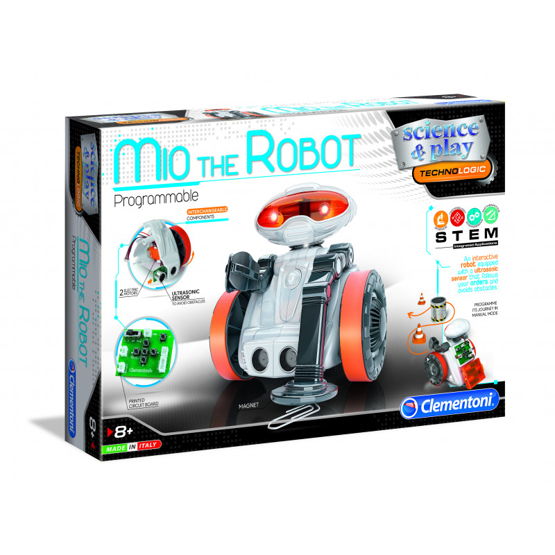 CLEMENTONI Mio The Robot, 75021BL