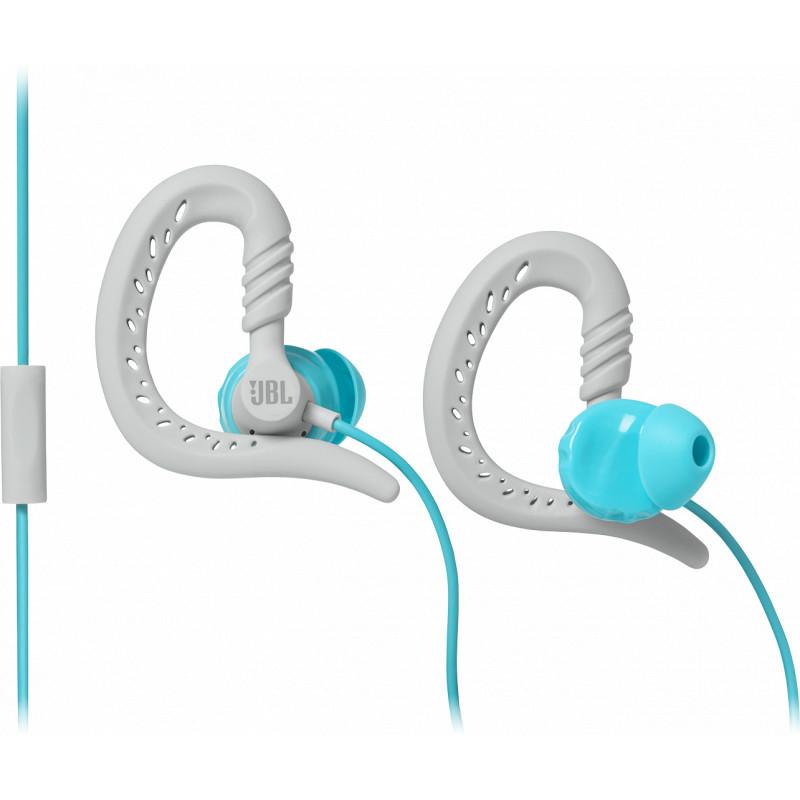 JBL kõrvaklapid + mikrofon Focus 300 Sport, sinine