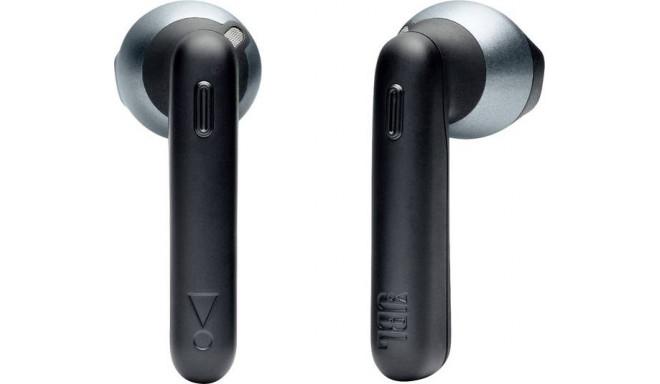 JBL juhtmevabad kõrvaklapid + mikrofon Tune 220, must