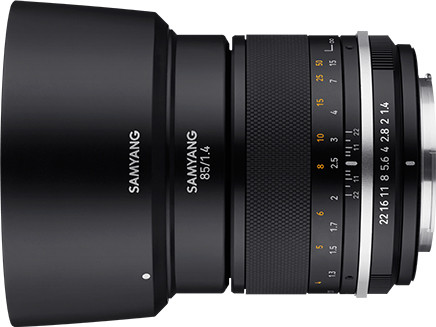 Samyang MF 85mm f/1.4 MK2 objektiiv Nikonile