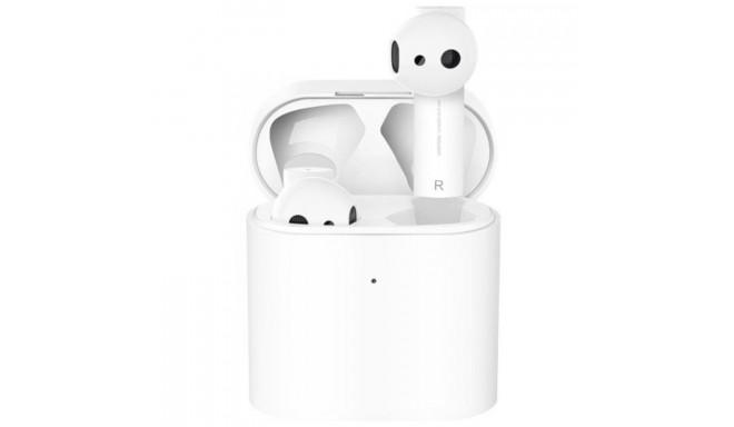 Xiaomi Mi juhtmevabad kõrvaklapid + mikrofon True Wireless 2, valge
