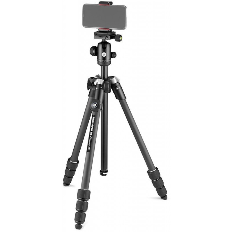 Manfrotto statiiv Element MII Mobile Bluetooth Carbon MKELMII4CMB-BH, must