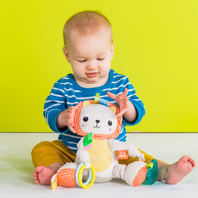 BRIGHT STARTS plush toy Lion, 12291