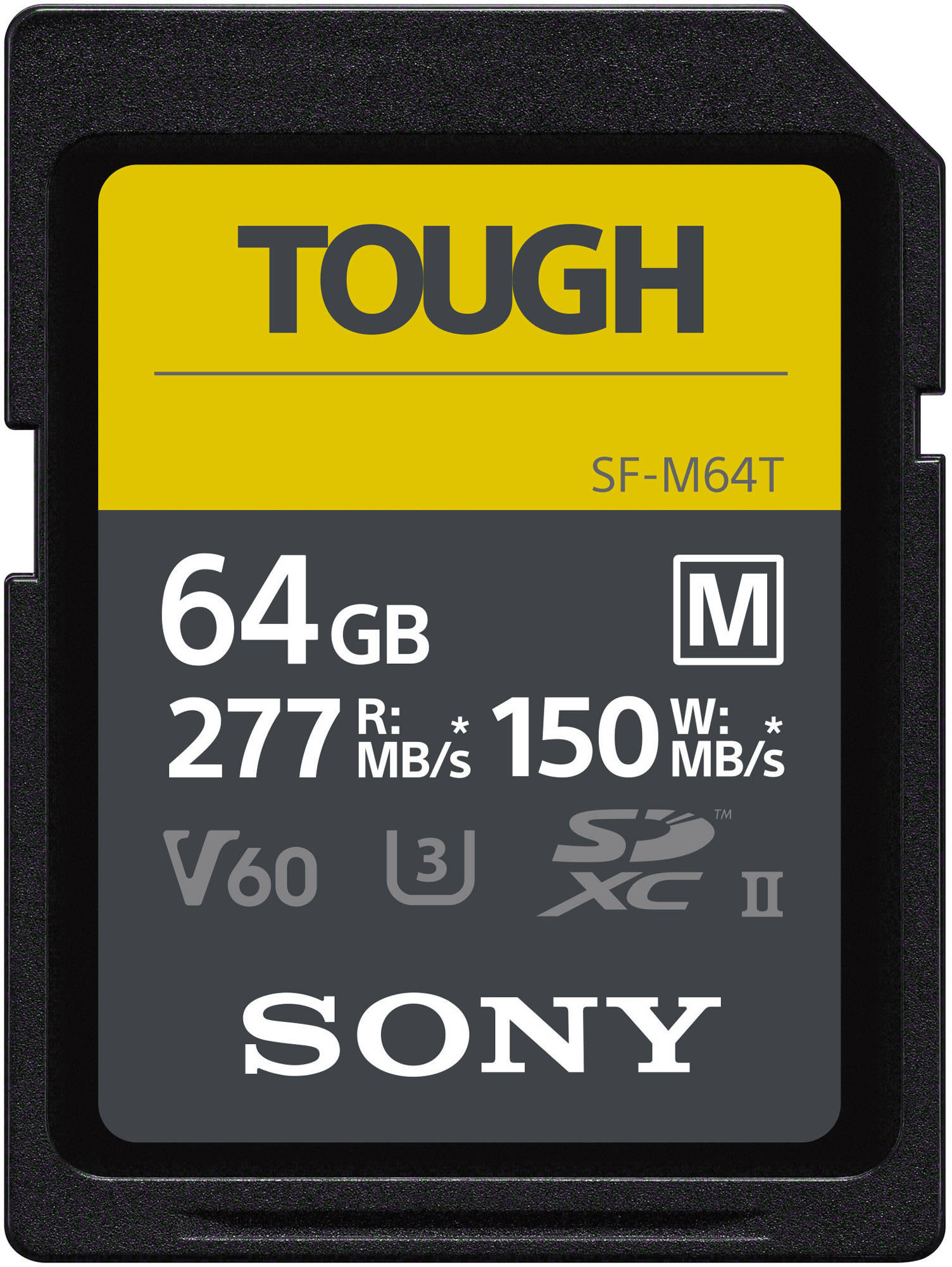 Sony mälukaart SDXC 64GB M Tough UHS-II..