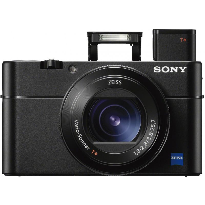 Sony DSC-RX100 V + käepide LCJ-RXK + vutlar VCT-SGR1