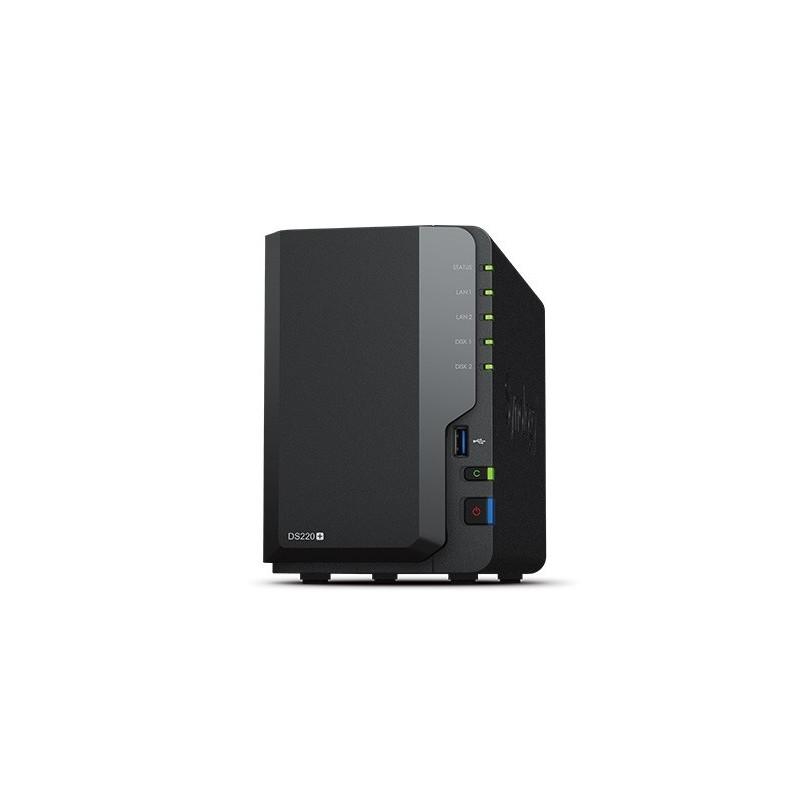 DS220+ 2x0HDD 2GB 2,9Gh z 2xRJ45 2xUSB3.0 2Y