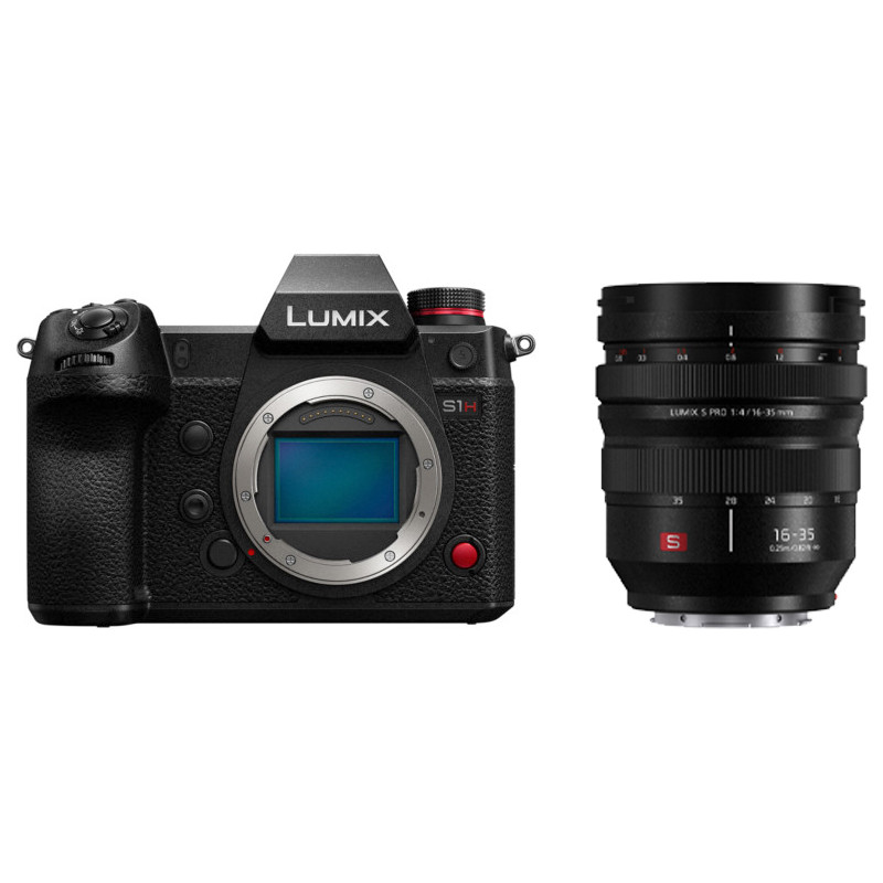 Panasonic Lumix DC-S1H + 16-35mm f/4