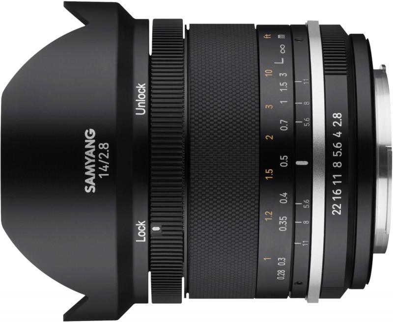 Samyang MF 14mm f/2.8 MK2 objektiiv Canonile