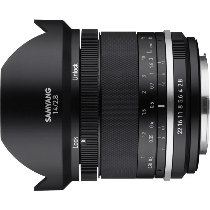 Samyang MF 14mm f/2.8 MK2 objektiiv Nikonile