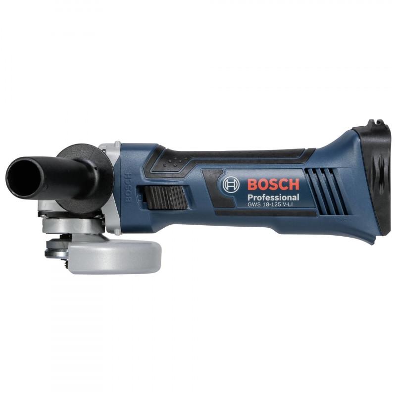 Bosch akunurklihvija GWS 18-125 V-LI