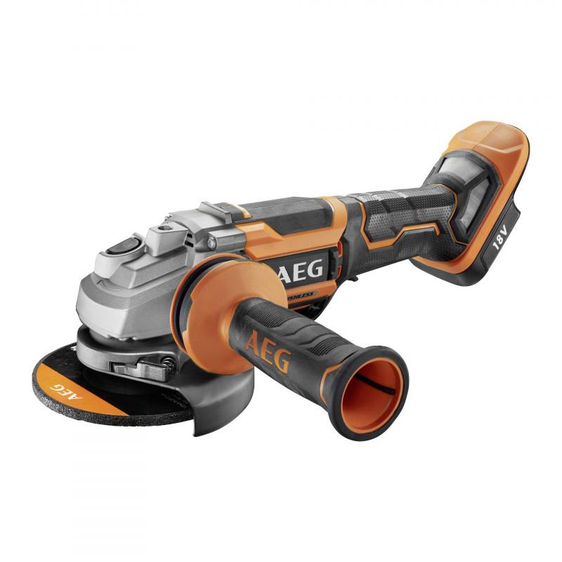 AEG BEWS18-125BLPX-0 Brushless Cordless Angle Grinder