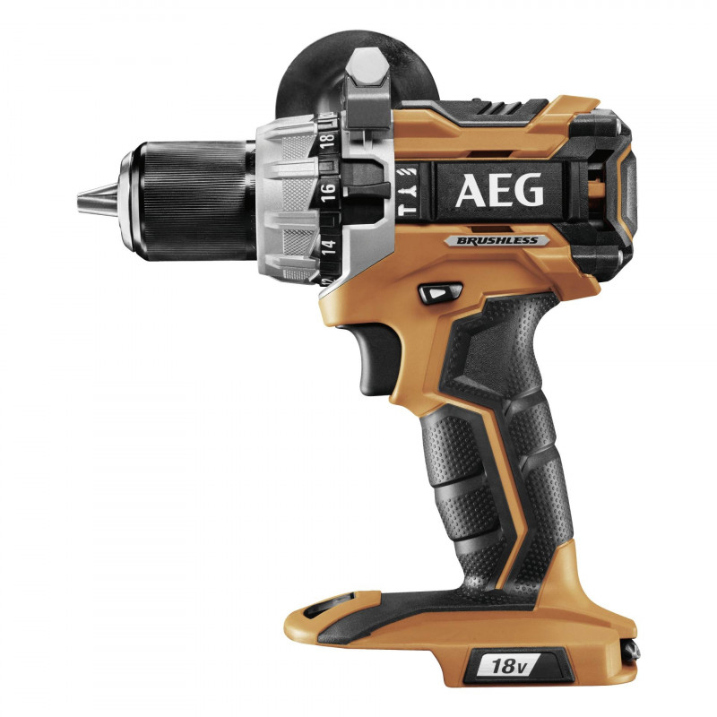 AEG BSB18C2BL-0 Brushless Cordless Combi Drill