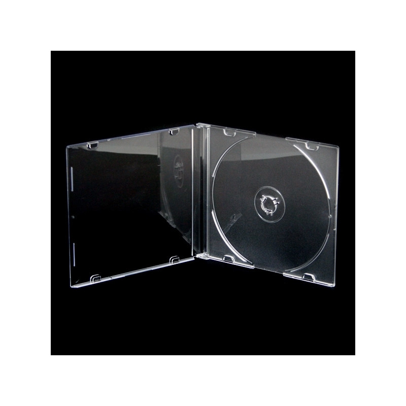 Omega CD-karp Slim Case Clear (56621)