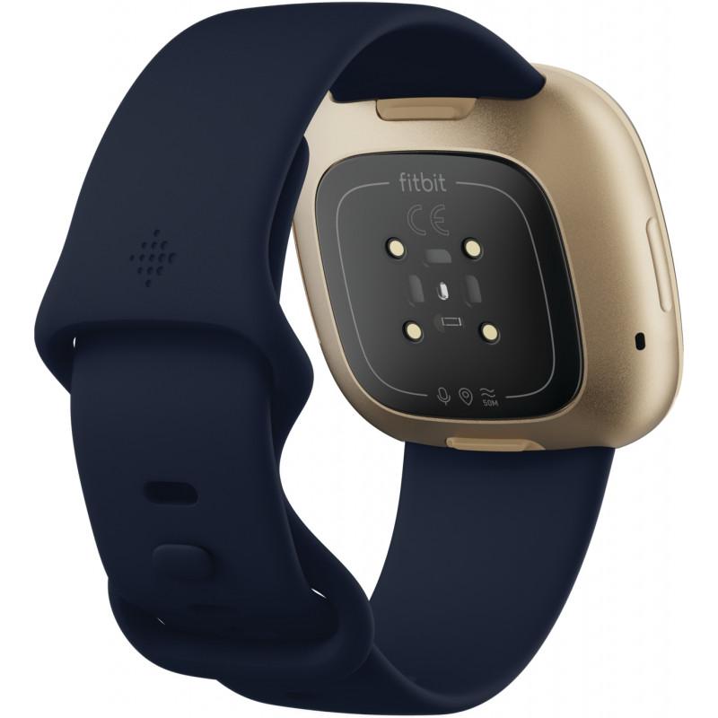 Fitbit Versa 3, midnight/soft gold aluminium