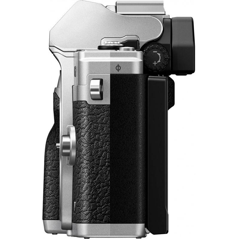 Olympus OM-D E-M10 Mark IV + 14-42mm + 40-150mm, silver
