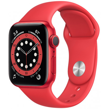 Apple Watch 6 GPS 40mm Sport Band (PRODUCT)RED