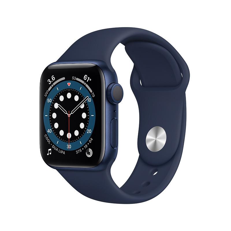 Apple Watch 6 GPS 40mm Sport Band, blue/deep navy