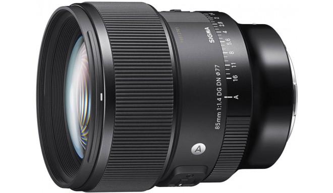 Sigma 85mm f/1.4 DG DN Art objektiiv Sonyle