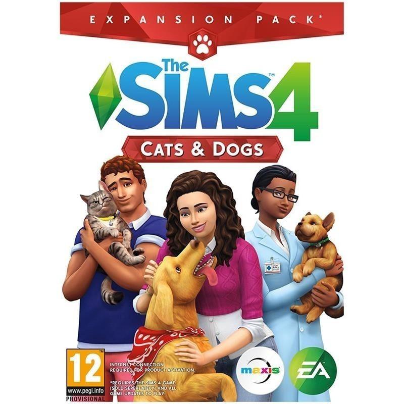 Arvutimängu laienduspakett The Sims 4: Cats and Dogs