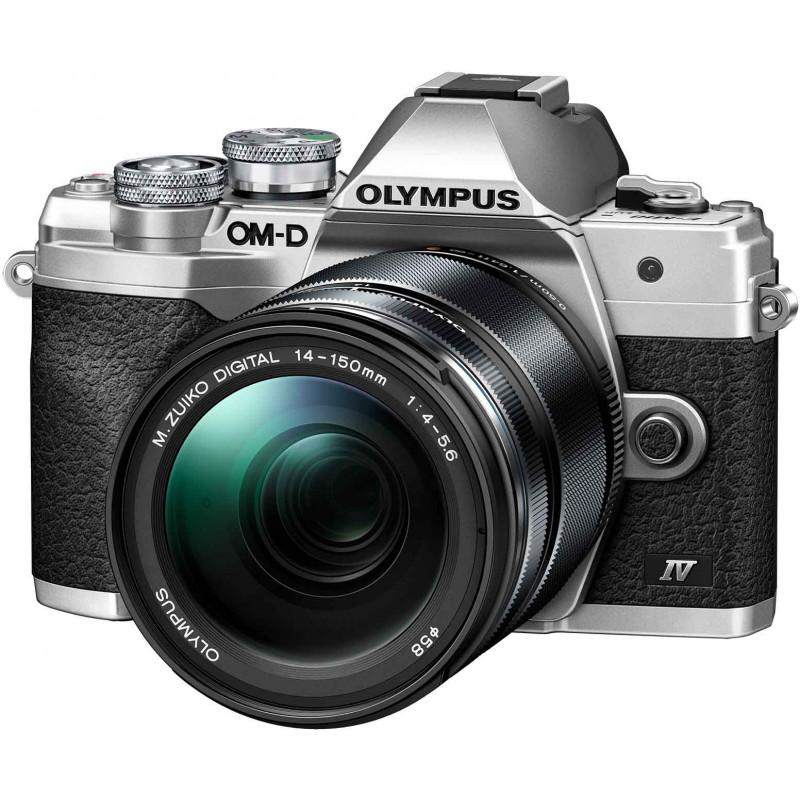 Olympus OM-D E-M10 Mark IV + 14-150mm Kit, silver/black
