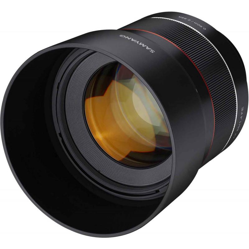 Samyang AF 85mm f/1.4 objektiiv Canonile